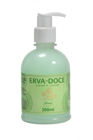 SABONETE LÍQUIDO ERVA DOCE BLOOM 300ML