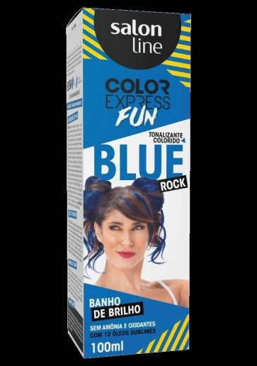 TINTURA COLOR EXPRESS SEM AMONIA BLUE 100ML