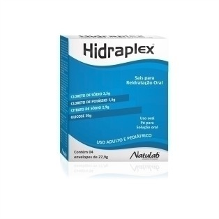 HIDRAPLEX NATURAL 4 ENVELOPES