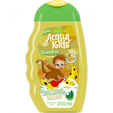 SHAMPOO ACQUA KIDS BANANA 250ML NAZCA