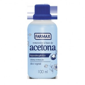 ACETONA 100ML FARMAX