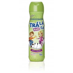 CONDICIONADOR TRALALA KIDS ANTI FRIZZ 480ML