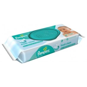 LENCO UMEDECIDO PAMPERS REGULAR 48 UNIDADES