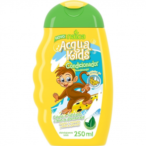 CONDICIONADOR ACQUA KIDS BANANA 250ML NAZCA