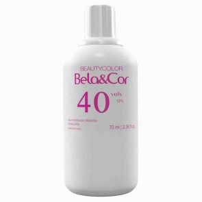 ÁGUA OXIGENADA BELA&COR 70ML 40 VOLUMES